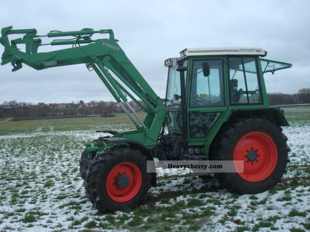 1993 Fendt  380 GTA industrial loaders, air pressure Agricultural vehicle Tractor photo