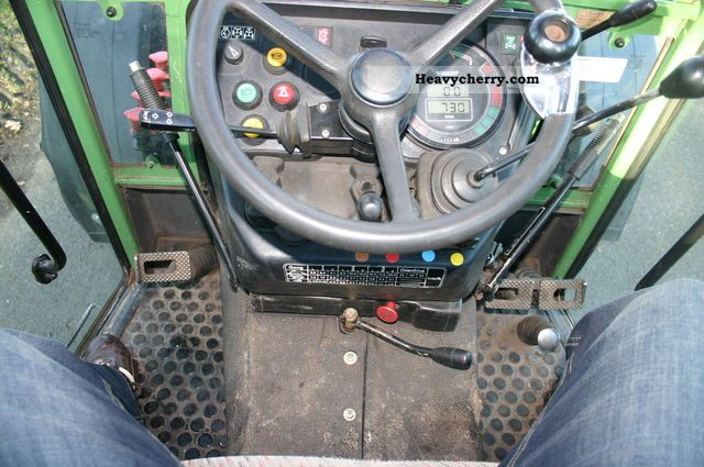Fendt 260 S 1996 Agricultural Tractor Photo And Specs