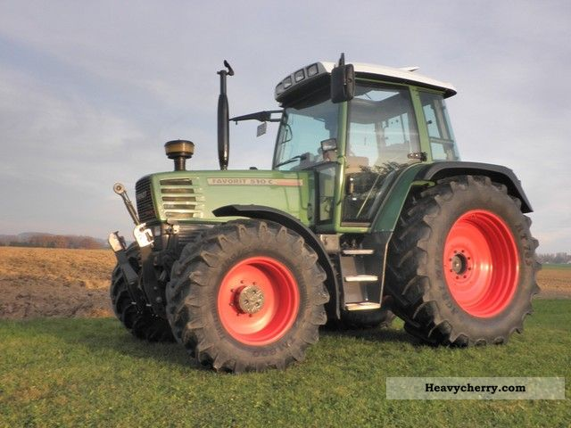 1994 Fendt  510 Agricultural vehicle Tractor photo