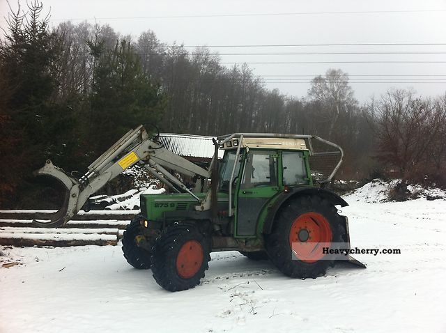 1992 Fendt  275 S Schlang and Reichart Agricultural vehicle Forestry vehicle photo