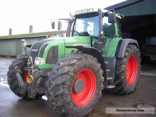 2003 Fendt  926 Vario PTO 50km suspension Vorderac Agricultural vehicle Tractor photo