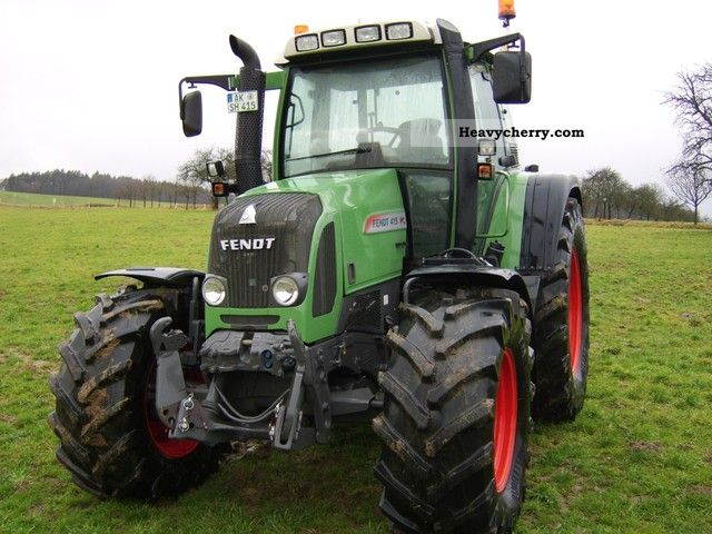 2009 Fendt  415 Vario Agricultural vehicle Tractor photo