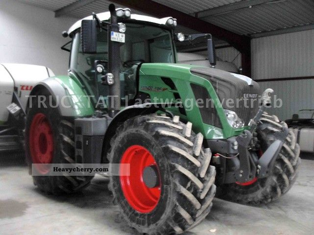 2011 Fendt  826 Vario, Professional Plus, automatic steering Agricultural vehicle Tractor photo