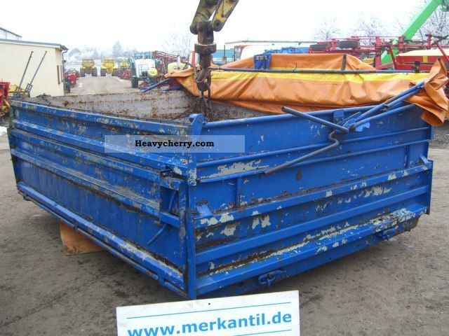 2011 Fortschritt  Tipper for tipper W50-2 Agricultural vehicle Other substructures photo