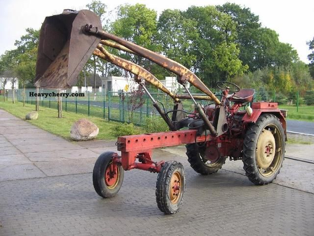 1962 Fortschritt  RS09 equipment support Agricultural vehicle Tractor photo