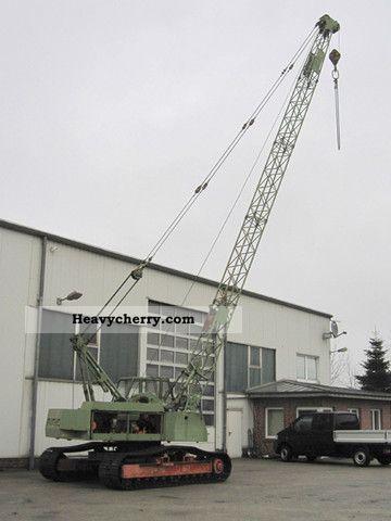 1980 Fuchs  R 114 crawler crane Construction machine Caterpillar digger photo