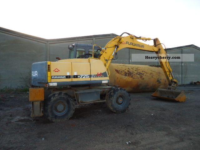 2001 Furukawa  w 725 Construction machine Mobile digger photo