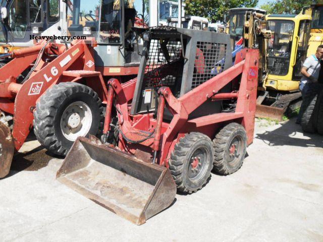 Gehl SL 2610 Skid Steer 1993 Mini/Kompact-digger Construction