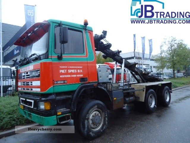 1992 Ginaf  G 3333 - S Truck over 7.5t Roll-off tipper photo