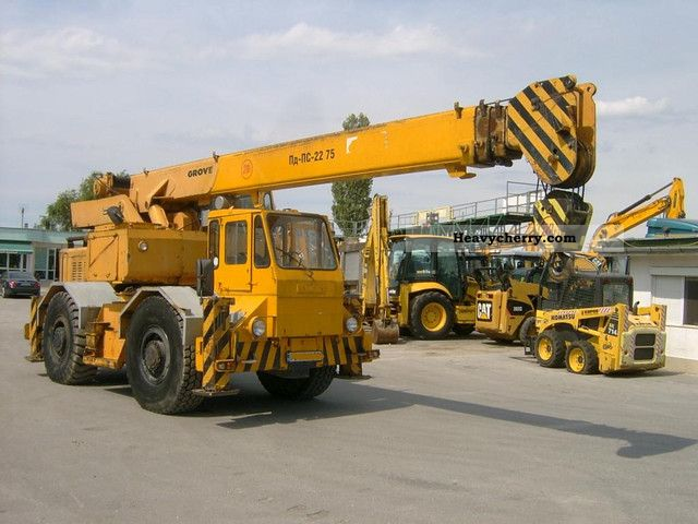 1992 Grove  RT 60 S 2 Truck over 7.5t Truck-mounted crane photo