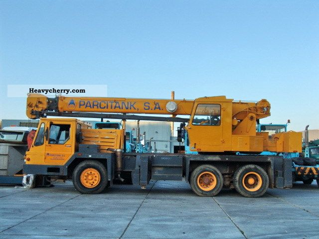 1980 Grove  TMS180 Truck over 7.5t Truck-mounted crane photo