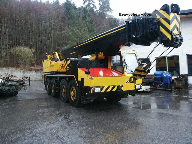 1983 Grove  AT KRUPP GMT60 Truck over 7.5t Truck-mounted crane photo