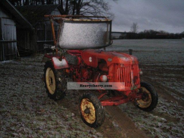 1954 Guldner  Güldner ALK Agricultural vehicle Tractor photo