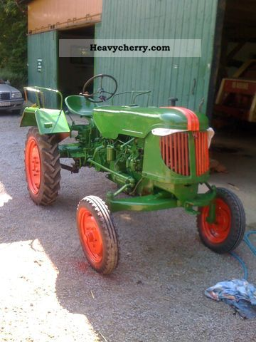 1956 Guldner  Güldner AND 8H Agricultural vehicle Farmyard tractor photo