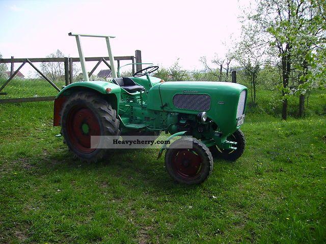 1960 Guldner  Güldner A 2 D Agricultural vehicle Tractor photo