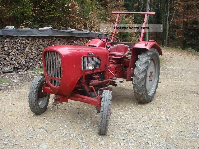 1960 Guldner  Güldner A3K Agricultural vehicle Tractor photo