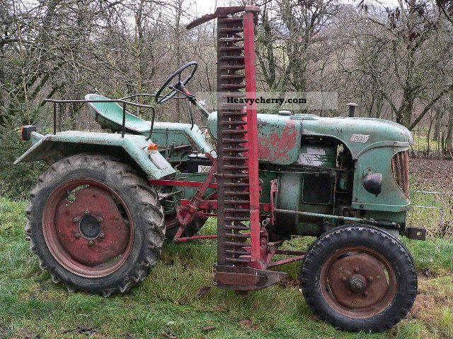 1957 Guldner  Güldner ALK8 Agricultural vehicle Tractor photo
