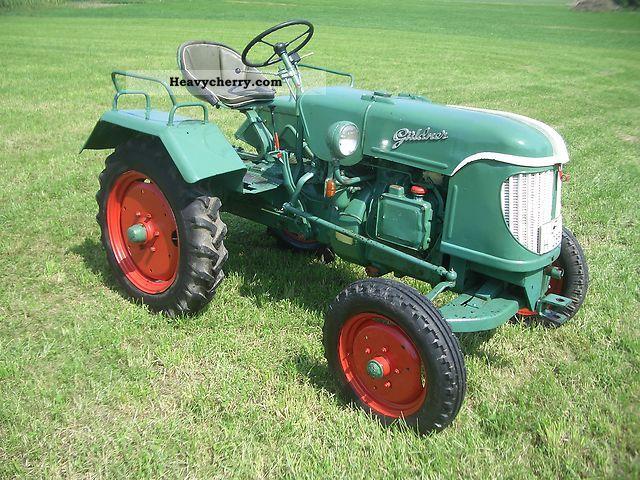 1952 Guldner  Güldner AF20C Agricultural vehicle Tractor photo