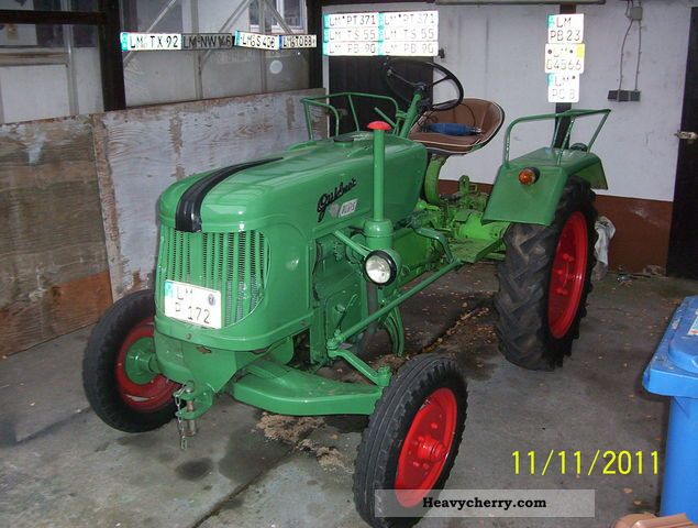 1956 Guldner  Güldner ADN8 Agricultural vehicle Tractor photo