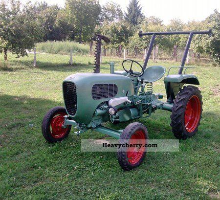 1957 Guldner  Güldner AK 9 Agricultural vehicle Tractor photo