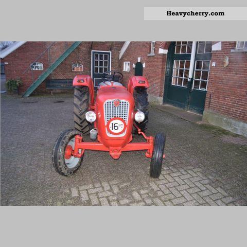 1963 Guldner  Guldner G 25 S Agricultural vehicle Tractor photo