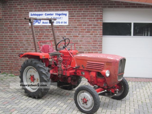 1968 Guldner  Guldner G15 Agricultural vehicle Tractor photo