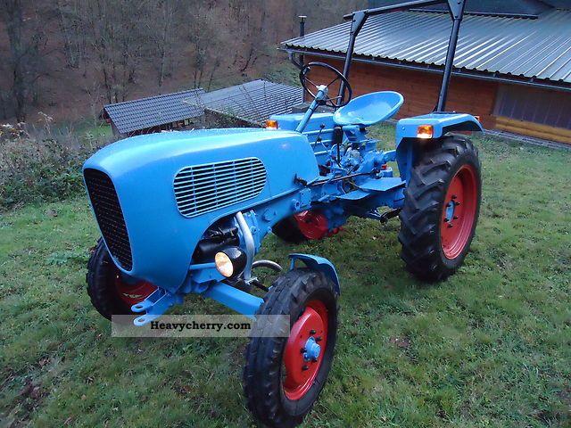 1960 Guldner  Güldner A2KN Agricultural vehicle Tractor photo