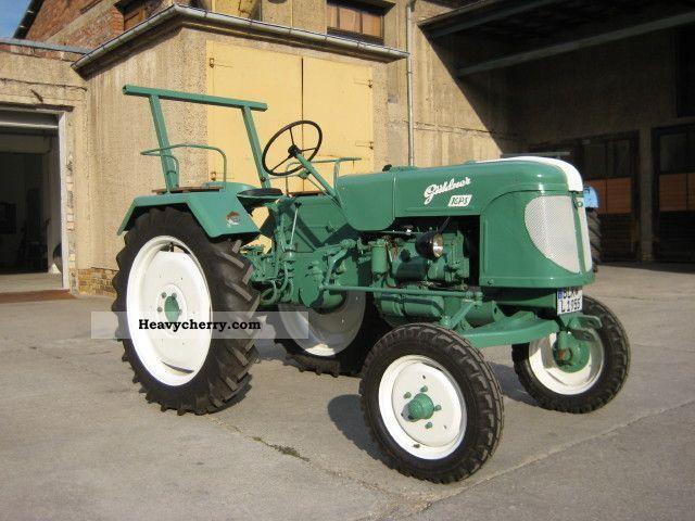 1955 Guldner  Güldner AND DESIGNATION restored 16 hp! ! ! Agricultural vehicle Tractor photo
