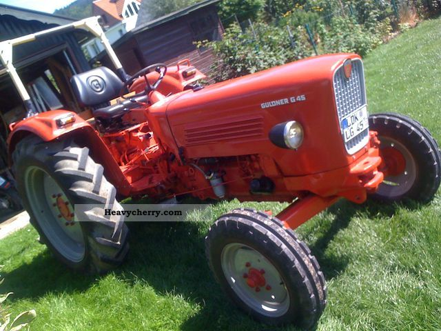 1966 Guldner  Guldner G45 Agricultural vehicle Tractor photo