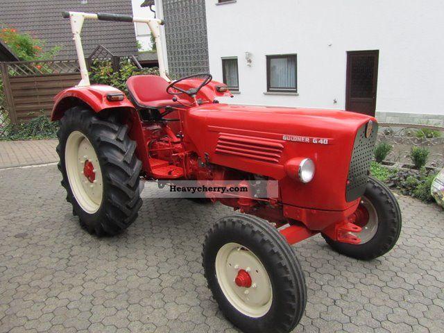 1964 Guldner  Güldner G40S Agricultural vehicle Tractor photo