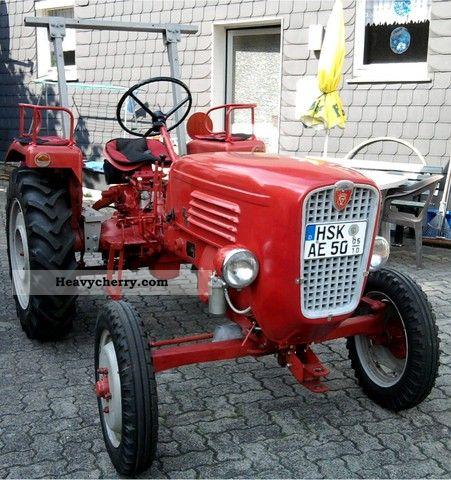 1957 Guldner  Güldner Spessard Agricultural vehicle Tractor photo