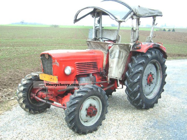 1963 Guldner  Guldner G 40 AS, WD, 30 km / h Agricultural vehicle Tractor photo