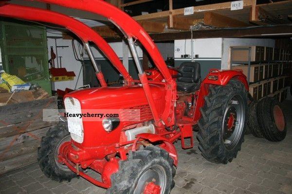 1967 Guldner  Guldner G 40 A Agricultural vehicle Front-end loader photo