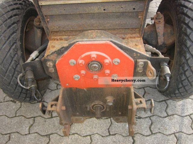 Gutbrod 4200 Da Winter Maintenance Snow Plow 1986