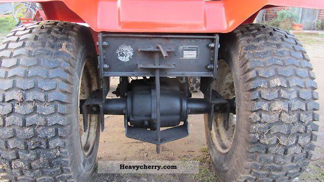 Hako 1600 E 2011 Agricultural Farmyard Tractor Photo And Specs