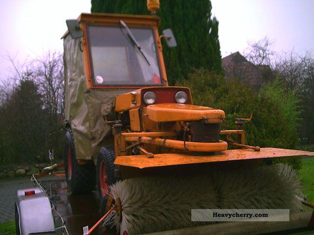 1973 Hako  Agria 4800 Agricultural vehicle Farmyard tractor photo