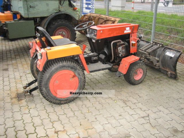 1981 Hako  2000 V Agricultural vehicle Tractor photo