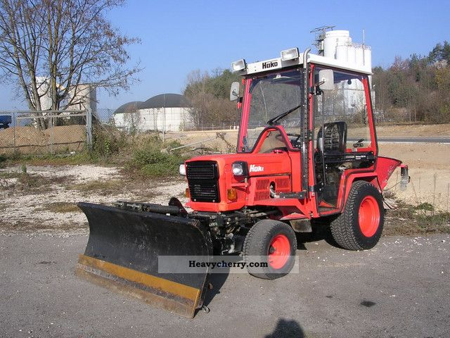 Hako 2250 D 1991 Agricultural Farmyard Tractor Photo And Specs