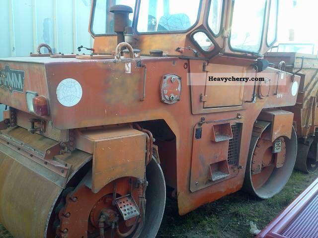 1993 Hamm  DV 621 Construction machine Rollers photo