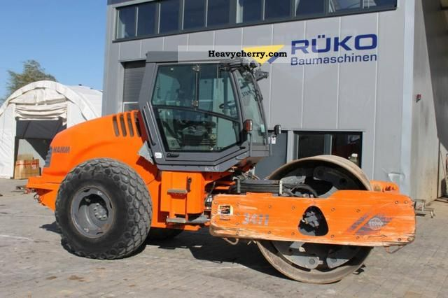2007 Hamm  3411 Construction machine Rollers photo
