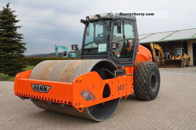 2011 Hamm  3412 HAS ** NEW ** Construction machine Rollers photo