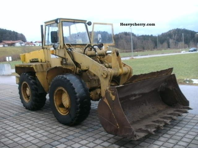1976 Hanomag  GESAMT.G 9000kg 33B- Construction machine Wheeled loader photo
