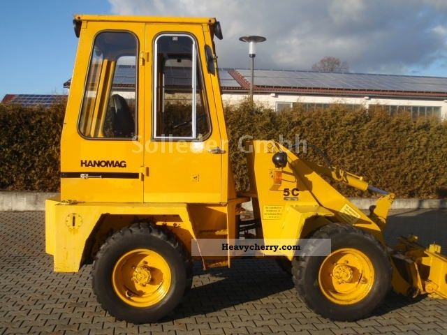 1981 Hanomag  5 C Construction machine Wheeled loader photo