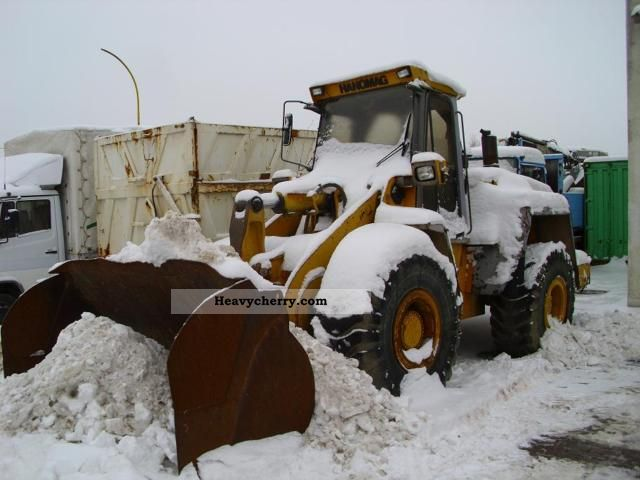 1990 Hanomag  60E full or in part Construction machine Wheeled loader photo