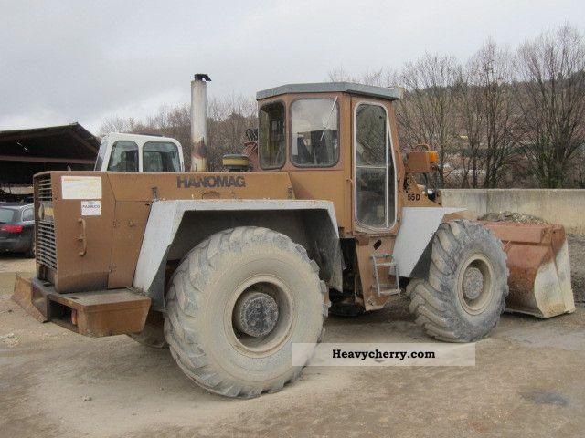 1987 Hanomag  55 D Original Construction machine Wheeled loader photo