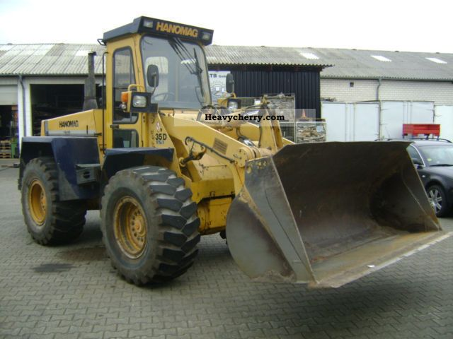 1995 Hanomag  35 D Construction machine Wheeled loader photo