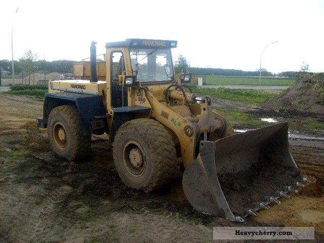 1992 Hanomag  55 D 6 cyl. Turbo motor 165 Psalm 14 Ton 3 cc Construction machine Wheeled loader photo