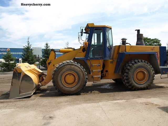 1994 Hanomag  ładowarka Kołowa HANOMAG 70E E70 E-70 Construction machine Wheeled loader photo