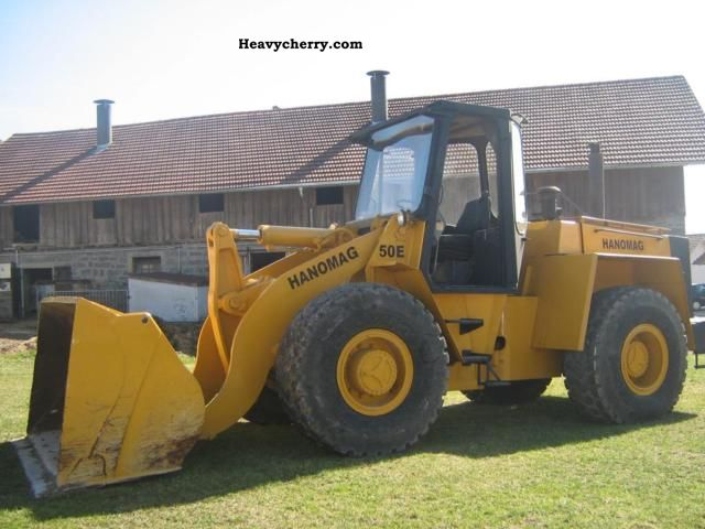 1996 Hanomag  50 E Construction machine Wheeled loader photo