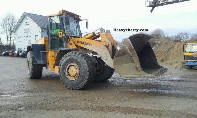1995 Hanomag  70 E Construction machine Wheeled loader photo